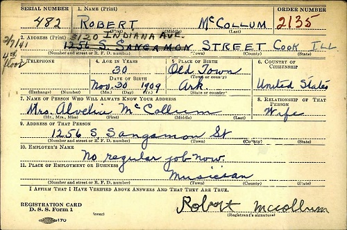Nighthawk Registration card